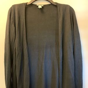 Black Chicos cardigan with ruffle sleeves